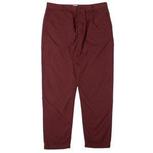 Military Chino - Raisin Poplin