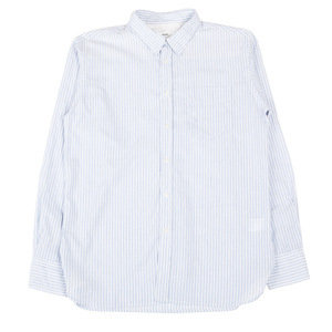 New Standard Shirt - Blue Bankers Stripe