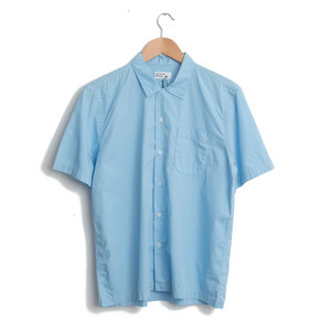Road Shirt - Sky Blue Poplin