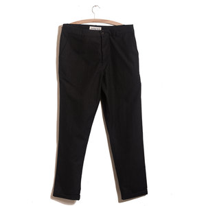 Tapered Pant (Cotton/Wool) - Charcoal