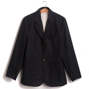 Two Button Jacket - Charcoal