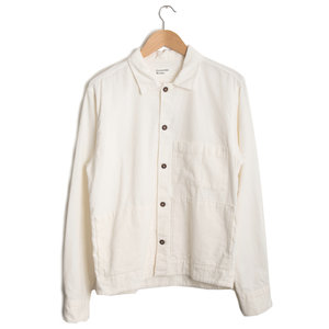 Uniform Shirt - Ecru Fine Cord