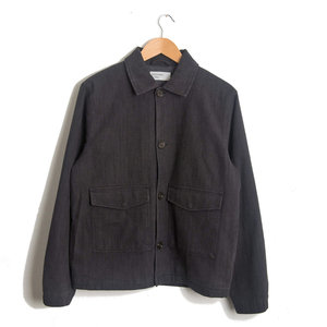Watchman Jacket - Charcoal Stripe