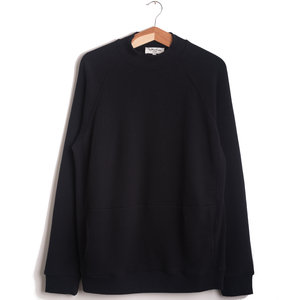 Touche Pocket Sweat - Black
