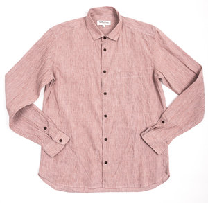 Curtis Shirt - Red Washed