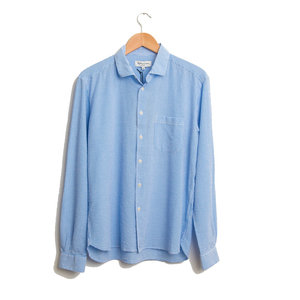 Curtis Shirt Seersucker Stripe - Blue