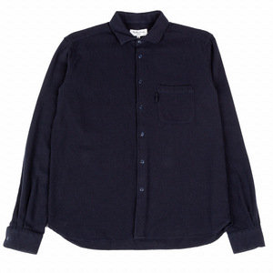 Curtis Shirt - Wool Oxford Navy