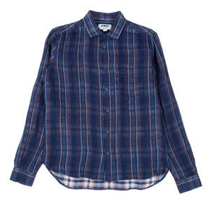 Curtis Shirt - Navy Stripe