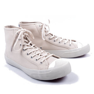Tape Heel Tip Boot (Cream)