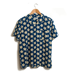 The Malick Star Print - Blue