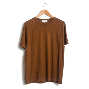 TV Raglan Tee - Brown